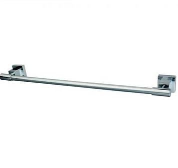 Claremont 24 Towel Bar - K&A Company Polished Claremont Towel Bar Chrome 24 Brass Kingston Wall Mounted Elements Design