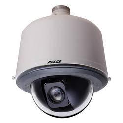(pelco S6220-PB1 IP Spectra ptz Dome Camera, Enhanced 1080P,2mp 20x, Pendant, Black,)