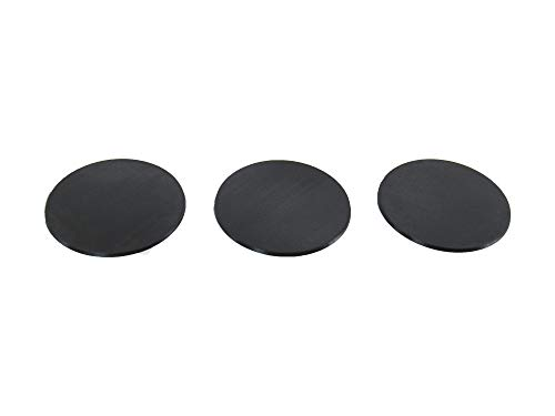 4 Inch Circular Bases, Accessories for Tabletop 28mm Miniatures Wargame, 3D Printed and Paintable, EnderToys