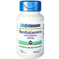 Life Extension - Benfotiamine with Thiamine - 100 Mg - 120 Caps
