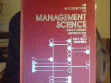An Introduction to Management Science, David Ray Anderson and Dennis J. Sweeney, 0829900799