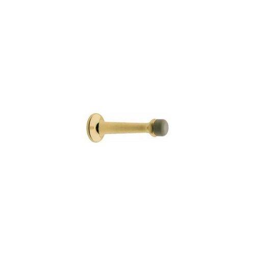 Distressed Venetian Bronze Baldwin 4045 3 Inch Solid Brass Base Mounted Door Bumper