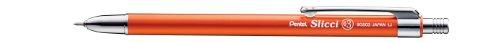 Pentel Mini Slicci for Memopad / Mini Diary, Orange Body, Slicci Black Ink (BG503F-A)