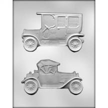 Assortment Mold (3 Pack, Antique Car Assortment Choc Mold)