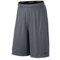 Nike Men's Fly 2.0 Athletic Training Shorts, Carbon Heather/Black, XL
