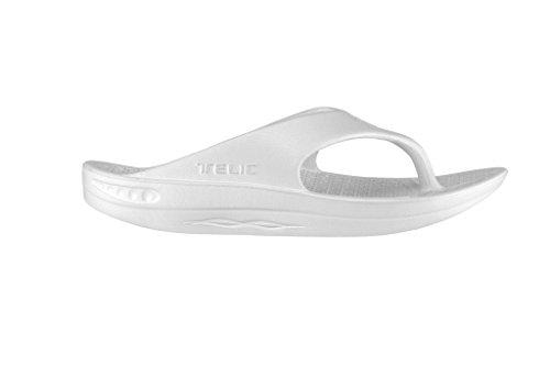 USA Made Flip White Snow in The Sandal Women's Telic Flop Fashion 8qw7x4naB