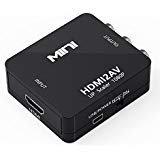 (Kawany HDMI to RCA, HDMI AV Video Audio Composite PAL / NTSC Converter)