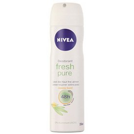 492dc5c49 Image Unavailable. Image not available for. Colour: Nivea Deodorant Spray  Fresh Pure ...