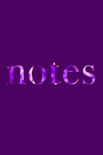 Notes: UV Purple Notebook Journal | 120-Page Lined (Color of the Year Collection) (Volume - Silver Color Pantone