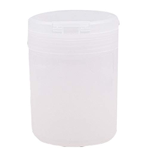 - Nail Art Gel Polish Remover Cleaning Cotton Sheet Pad Swab Container Storage Box - White