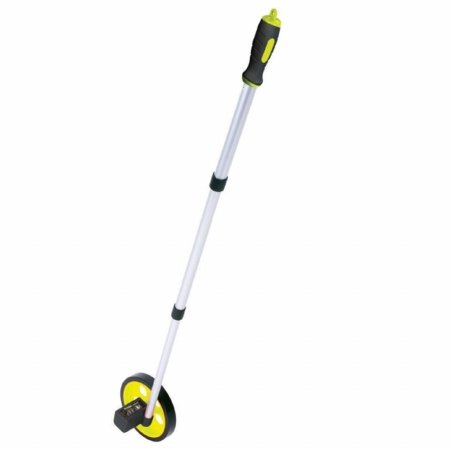 Wheels Tools Measuring (Komelon ML1810 Measuring Wheel for Feet, 6-Inch, Hi-Viz Yellow)