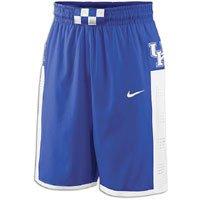 - Kentucky Wildcats Woven Players Basketball Short - Men - L