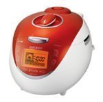 Cuckoo CRP-HV0667F 6 Cup Electric Rice Cooker, 110V, Orange For Sale