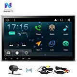 Eincar 10.1' 2GB Android 7.1 Car Radio Stereo - Universal Double Din Head Unit with Adjustable Angle - Support Fast-boot, GPS Sat Nav, DAB+, 3G 4G WIFI, Phone Link, FM AM RDS, Steering Wheel Control,U