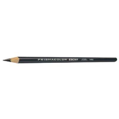 sign EBONY Sketching Pencil Black Matte Dozen (Design Ebony Pencil)