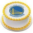 Golden State Warriors Licensed Edible Cake Topper (Nba Cake)