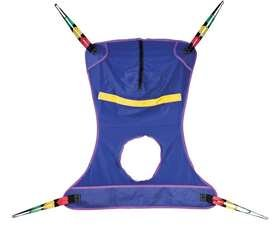 ALIMED 78256 Full Body Mesh Seat Commode Sling X-Large