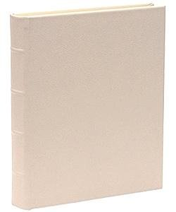 Wedding White Leather Medium Bound Album by Graphic Image™ - 9x12 by Graphic Image