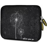 Amzer 7.75-Inch Designer Neoprene Sleeve Case Cover Pouch for Tablet, eBook and Netbook - Dandilions (AMZ5098077)