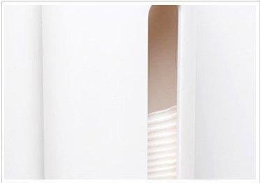 Kitchen dispensador con Aperturas de f/ácil Acceso diarias Objetos cosm/éticos Almacenamiento Soporte de Pared Mount algod/ón Pads Soporte