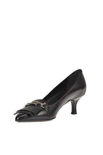 Altos Mujer Negro Zapatos Tod's Ezgl027015 Cuero X6qEnwS8v