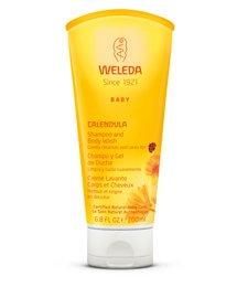 Weleda Calendula Shampooing pour bébés et Body Wash, 6,8 once