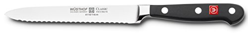 Wusthof Classic 4110 Serrated Utility Knife (Sausage knife) 14 cm 5""