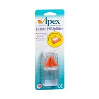 Apex Deluxe Pill Splitter 1 Each (Pack of 3) by Apex