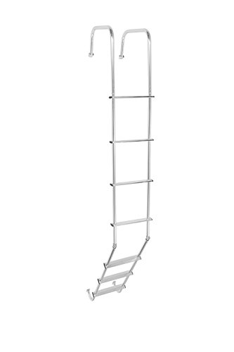 Ladder Rear - STROMBERG CARLSON LA-401 RV Trailer Camper Universal Outdoor Ladder