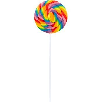 Large Swirl Lollipops - Large Swirl Lollipops 12 Ct (each) - Party Supplies