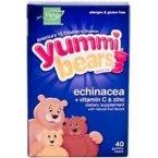 Yummi Bears Echinacea + Vitamin C & Zinc, 40-Count Gummy Bears