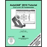Autocad 2010 Tutorial - First Level (Pk W/13-Month Version of Autocad 2010 Software), Shih, 1585035009