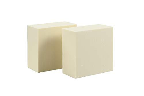 (Sculpture Block - Polyurethane Foam Carving Block - 6 x 6 x 3 inches - 2 Pack )