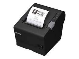 Epson C31CE94A9971 Epson, TM-T88VI, Thermal Receipt Printer, Epson White, S01 and R04, Ethernet, Wi-Fi and Serial Interfaces, Ps-180 Power Supply and Ac Cable