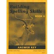 Download Building Spelling Skills Book 6 Answer Key 2nd Ed. pdf epub