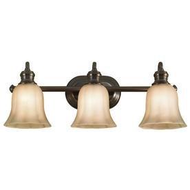 allen roth 3 light forstyth bronze traditional bathroom vanity light vanity lighting fixtures