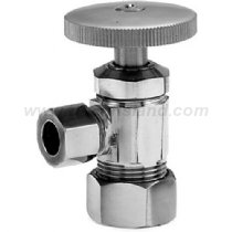 Weathered Copper Angle - Westbrass D104-10W Compression Angle Stop, Weathered Copper