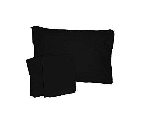 BabyDoll Solid Crib/Toddler Bed Sheet Set, Black baby doll bedding 500css
