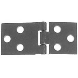 HS-3 Steel Drop Leaf Table Hinge 2 PC/Pack + Free Bonus (Skeleton Key Badge) ()