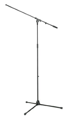 K&M 21021 Overhead Microphone Stand - Black by K&M Stands
