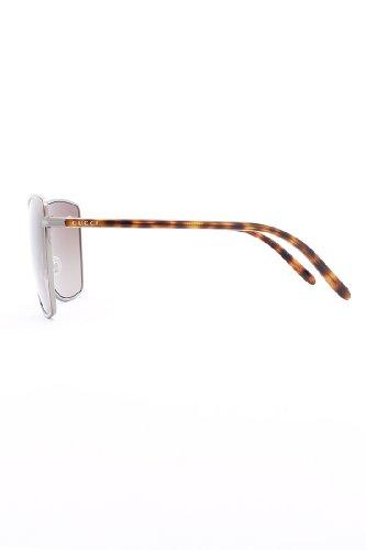 77676b1b92 Gucci 4207 WSB Brown Ruthenium Tortoise 4207 Butterfly Sunglasses   Amazon.co.uk  Clothing