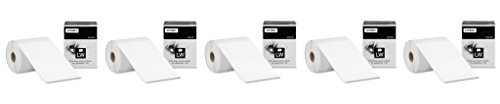 DYMO LW Extra-Large Shipping Labels vKxTBO for LabelWriter Label Printers, White, 4 Inch x 6 Inch, 5 Pack