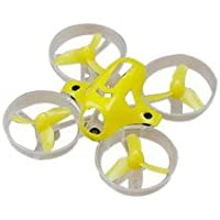 QWinOut Tiny7 Kit 75mm Main Frame With 40mm Propeller Props for RC Racing Drone Quadcopter (Yellow)
