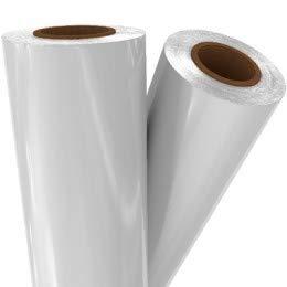 White Pigment Laminating/Toner Fusing Foil (24'' x 500') by MyBinding