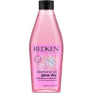 Redken Diamond Oil Glow Dry Detangling Conditioner By Redken for Unisex - 8.5 Ounce Conditioner, 8.5 Ounce (Oil Diamonds)