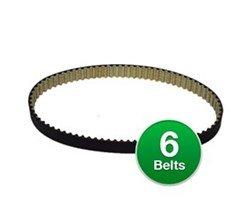Genuine Vacuum Belt for: Oreck 8520070 / 234-S3M (6-Pack)