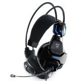 E-Blue Cobra 707 Advanced PC Gaming LED Headset with Microphone (HS707) For Sale