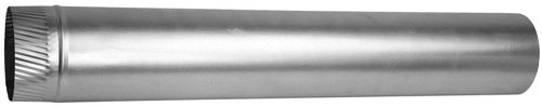 Speedi-Products EX-30AP 460 4-Inch Diameter by 60-Inch Length 30-Gauge Aluminum Rigid Pipe