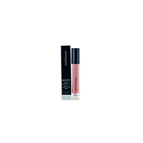 bareMinerals Gen Nude Matte Liquid Lip Color, Weekend, 0.13 Fluid Ounce ()