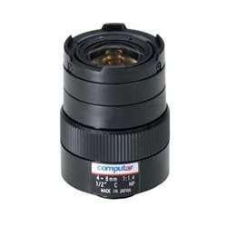 Computar H2Z0414C-MP 0.5-Inch 1.3 Megapixel Varifocal lens 4-8mm F1.4 Manual Iris